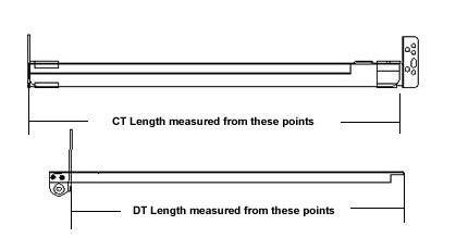 GO-EZ Concealed Undermount Slides 24 Drawer Slides